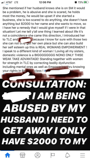 CW: Spousal Abuse Hun uses Total Life Changes MLM and credit repair (?) to manipulate survivor in spending her savings ($2,000) on hun's products and classes I don't know who hun is referring to or else I would help. This is already such a difficult time and the hun is out here doing this!!!???: CW: Spousal Abuse Hun uses Total Life Changes MLM and credit repair (?) to manipulate survivor in spending her savings ($2,000) on hun's products and classes I don't know who hun is referring to or else I would help. This is already such a difficult time and the hun is out here doing this!!!???