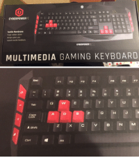 """Shit, Target, and Tumblr: CYBERPOWERPC  6  9  A Shift  N M K  A Shit  Tactile Membrane  Huge rubber dome  design gives you  supurb tactile feedback.  CYBERPOWERPC  MULTIMEDIA GAMING KEYBOARD   F1  F2  F3  F4  5  6  A Shift  Alt <p><a href=""""http://benjaminbreeg.tumblr.com/post/147419284463/bace-jeleren-whowasphoone-banshees"""" class=""""tumblr_blog"""" target=""""_blank"""">benjaminbreeg</a>:</p>  <blockquote><p><a href=""""http://bace-jeleren.tumblr.com/post/147403537805/whowasphoone-banshees-banshees-the-gaming"""" class=""""tumblr_blog"""" target=""""_blank"""">bace-jeleren</a>:</p>  <blockquote><p><a class=""""tumblr_blog"""" href=""""http://whowasphoone.tumblr.com/post/147384674753"""" target=""""_blank"""">whowasphoone</a>:</p> <blockquote> <p><a class=""""tumblr_blog"""" href=""""http://banshees.tumblr.com/post/147369331385"""" target=""""_blank"""">banshees</a>:</p> <blockquote> <p><a class=""""tumblr_blog"""" href=""""http://banshees.tumblr.com/post/147369189285"""" target=""""_blank"""">banshees</a>:</p> <blockquote> <p>the Gaming keys……….do t even think about looking at this post if ur not a gamer</p> </blockquote> <p>i just fuckinf noticed they switched the d and the s's places what the…fuck?</p> </blockquote> <p>its because the d stands for down and the s stands for sideways…. this is clearly how it was meant to be all along</p> </blockquote>  <p>W for """"wupwards""""</p></blockquote>  <p>a is for """"am going left""""</p></blockquote>"""