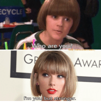 Coconut head - Mark: CYCLES  Who are you?  AWAR  Im you but stronger. Coconut head - Mark