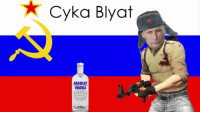 Whenever i talk to a Russian i always think of this hahaha - James RUSSIABALL: Cyka Blyat  ABSOLUT  VODKA Whenever i talk to a Russian i always think of this hahaha - James RUSSIABALL
