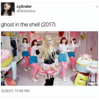 u my little sparkle jump rope queen: cylinder  alittlechina  ghost in the shell (2017)  3/29/17, 11:08 PM u my little sparkle jump rope queen