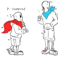 Geno sans and geno pap I think- Edit: aftertale and afterswap ty @doiivaking undertale sans papyrus: D  00  P-PaP4rus?  F-Papyrus? Geno sans and geno pap I think- Edit: aftertale and afterswap ty @doiivaking undertale sans papyrus