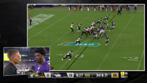 Memes, House, and Ravens: D&21  M&TBank  6 99  19 8:27 3RD  06  3rd & 21  WBALTV To the HOUSE.  @Ravens DB Cyrus Jones grabs that Pick-6! #JAXvsBAL https://t.co/NagIx0YsyM
