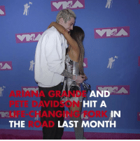 The death of Mac Miller was a turning point for Ariana & Pete. tmz split arianagrande petedavidson macmiller: D A  ARIANA GRANDE AN  PETE DAVIDSON  LIFE-CHANGING FORK  THE  HIT A  IN  LAST MONTH The death of Mac Miller was a turning point for Ariana & Pete. tmz split arianagrande petedavidson macmiller