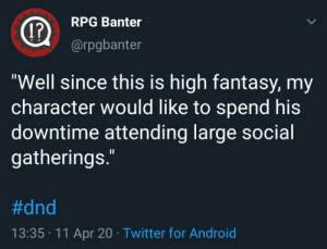 D&D might be high fantasy, but this is too real: D&D might be high fantasy, but this is too real