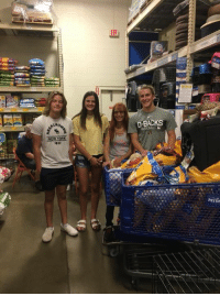 Huge thank you to these students from Red Mountain High school. They spent countless hours collecting money, dog food and supplies for the rescue.: D-BACKS  1892  PETSA Huge thank you to these students from Red Mountain High school. They spent countless hours collecting money, dog food and supplies for the rescue.