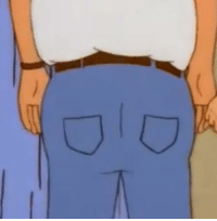 Hank hill iS THICC:  D   D Hank hill iS THICC