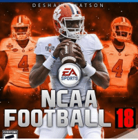 Memes, Sports, and Game: D E S H A  AT S O N  EA  SPORTS  NEAA  FOOTBA0L18  EVERYONE Double tap if you wish this was real NCAA 18 would have been released today! Been waiting 4 years for a new game 😡😡😡 Pic via @collegefootballedits