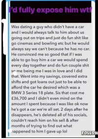 dating a guy with no car