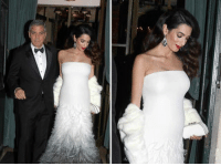 George, Amal, and a 👶 bump. theclooneys georgeclooney tmz amalclooney pregnant: D George, Amal, and a 👶 bump. theclooneys georgeclooney tmz amalclooney pregnant