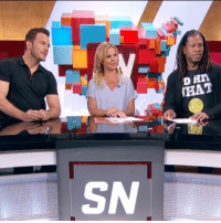 Can Chris Pratt convince Marcellus Wiley that dinosaurs are real?: D Hn  THAT  SN Can Chris Pratt convince Marcellus Wiley that dinosaurs are real?