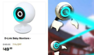 "Tumblr, Blog, and Http: D-Link Baby Monitors  $469.99 71%OFF  $49.95 crystallisedrain:  tyrannosaurus-rex:  squashwaffle: I got this ad for baby monitors. I N F A N T   D E T E C T E D  ""WELCOME TO MY REALITY"""