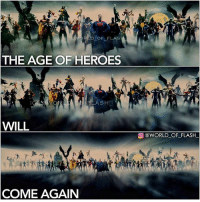 From @world_of_flash_ - THE NEW DC INTRO IN THE WONDER WOMAN MOVIE GAVE ME CHILLS😰😰: D OF FLAS  THE AGE OF HEROES  ASH  WILL  @WORLD OF-FLASH-  COME AGAIN From @world_of_flash_ - THE NEW DC INTRO IN THE WONDER WOMAN MOVIE GAVE ME CHILLS😰😰