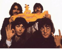 """Photo - Most people recognize the Satanic hand sign which John Lennon is making at the bottom right; but, few people realize that the """"ok"""" sign which Paul McCartney is making at the bottom left is also very Satanic. The """"ok"""" sign is actually three 6's, each of the three vertical fingers forming an individual 6. 666! Do not make the """"OK"""" sign! It is the sign of the devil! Share and like if you agree.: d