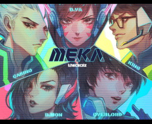 Squad, Tumblr, and Twitter: D.VA  Ehececilz  OVERILORD thececilz:  MEKA squad Animated ver on twitter:https://twitter.com/TheCecilz/status/1032689214092181505
