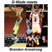 He did the Impersonation Perfect 👌😂 @bdotadot5 @viciouslams - Follow (ME) @cleanestclipz for more! 🏀: D-Wade meets  ADE  3  Brandon Armstrong He did the Impersonation Perfect 👌😂 @bdotadot5 @viciouslams - Follow (ME) @cleanestclipz for more! 🏀