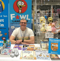 Bored, Memes, and Cool: d yeti.  eti.com  o Mo  LANG  Comics For Im  rents  Fowl Langua  BORED  CAR DECALS  ANYWHERE!  IND SOMETHING  FUND NY  KICKSTARTER.  Brian Gordon  Fow Language  USED TO BE DO COOL THINGS  SuON OF  MYSELF  ABOUT Come see me at Kansas City Planet Comicon this weekend! (Please)