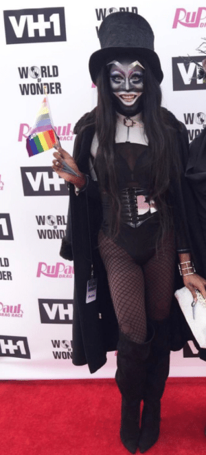 The Babadook is at the RuPaul's Drag Race finale and I'm BABASHOOK!: DA  WORLD  WONDER  WO  WOR  WON  LDR  DRAG  aul  VH  RAG RACE  H1  WO The Babadook is at the RuPaul's Drag Race finale and I'm BABASHOOK!