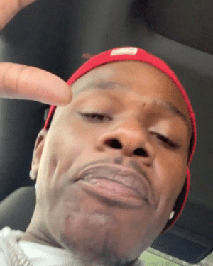 Fake, Weed, and Him: DaBaby responds to fans criticizing him for throwing fake weed into the crowd at #RollingLoud 👀😂 @DaBabyDaBaby https://t.co/QMg0WDtZS4
