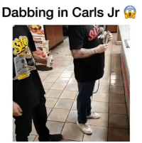 They dabbed a @dabado enail in Carl's Jr 😂 check out @dabado for portable dab rigs 💨: Dabbing in Carls Jr f They dabbed a @dabado enail in Carl's Jr 😂 check out @dabado for portable dab rigs 💨