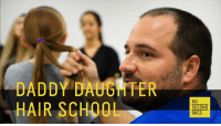 This is what love looks like. Bonding over a braid. <3 #thisiswhatlovelookslike #positivefocus: DADDY DAUGHTER  HAIR SCHOOL  SECOND  DOCS This is what love looks like. Bonding over a braid. <3 #thisiswhatlovelookslike #positivefocus