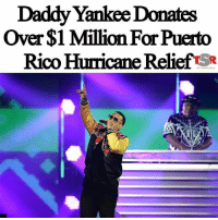 "America, Anaconda, and cnn.com: Daddy Yankee Donates  Over $1 Million For Puerto  Rico Hurricane Relief SR 🇵🇷❤💙Gasolina🔥🔥🔥 Repost @theshaderoom ・・・ TSR STAFF: Jade Ashley @Jade_Ashley94 _____________________________________ Many people are devastated following the damage that HurricaneMaria has left behind on the island of PuertoRico. _____________________________________ Like with the two previous hurricanes that have left many people misplaced, celebrities are stepping up to help with relief efforts. _____________________________________ JenniferLopez announced her $1 million donation to Puerto Rico earlier today, and now rapper DaddyYankee is the latest celebrity to donate and raise awareness. _____________________________________ In an interview with CNN, Daddy Yankee revealed that he personally donated $1 million to Feed America and another $100,000 to the Red Cross. _____________________________________ He said, ""A lot of people don't know Puerto Ricans are American citizens ... we need the federal money for the citizens and for the government to help the locals."" _____________________________________ (📷: Jason Koerner- @gettyimages)"