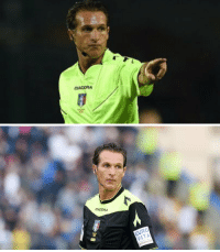 Matthew McConaughey gave up acting to become a referee in Serie A https://t.co/T0D4BCDUBW: DADORA  EURO  VITA Matthew McConaughey gave up acting to become a referee in Serie A https://t.co/T0D4BCDUBW