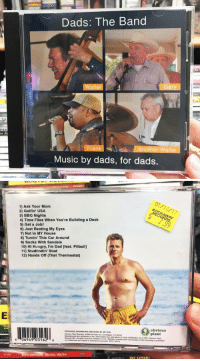 I only listen to real music: Dads: The Band  Walter  Another Walter  Music by dads, for dads.   1) Ask Your Mom  2) Golfin' USA  3) BBQ Nights  4) Time Flies When You're Building a Deck  5) Get a Job!  6) Just Resting My Eyes  7) Not in MY House  8) Turnin' This Car Around  9) Socks With Sandals  10) Hi Hungry, I'm Dad [feat. Pitbull]  11) Stud findin Stud  12) Hands off That Thermostat)  PRODUCED ENGINEERED ANO MourDer My soN  Records INCA nights reserved  6 06949 03162 6  COSTIL  BRUTAL YOUTH  (O obvious I only listen to real music