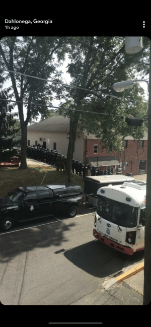 Police in riot gear in Dahlonega, Georgia for a rally organized by white supremacists who have advertised it as a rally in support of President Donald Trump. Attendies include members of the Ku Klux Klan and then National Alliance, a white supremacist group with anti-Semitic & anti-immigrant beliefs: Dahlonega, Georgia  1h ago  STATE OFFICER  STATE INMATE TRANSPORT  6754 Police in riot gear in Dahlonega, Georgia for a rally organized by white supremacists who have advertised it as a rally in support of President Donald Trump. Attendies include members of the Ku Klux Klan and then National Alliance, a white supremacist group with anti-Semitic & anti-immigrant beliefs