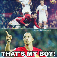 Offside? No one cares Zlatan is proud 😉: daia  ereddevilsedit  THAT'S MY BOY! Offside? No one cares Zlatan is proud 😉