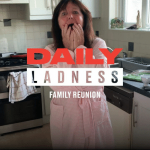 There's nothing more heartwarming than seeing family reunions after years apart ❤️: DAIL  LADNESS  FAMILY REUNION There's nothing more heartwarming than seeing family reunions after years apart ❤️