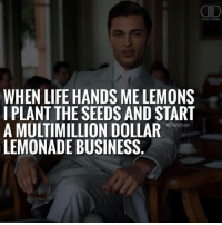 """Empire, Fail, and Fall: DAILY DOSE  WHEN LIFE HANDS ME LEMONS  I PLANT THE SEEDS AND START  A MULTIMILLION DOLLAR  @Daily Dose  LEMONADE BUSINESS Most people claim to understand the importance of goal setting in order to attain a better life, but in fact, approximately 80 percent of people never set goals for themselves. This is especially prevalent among people who are not involved in some sort of business or entrepreneurial endeavor that promotes goal setting. . Even more surprising, of the 20 percent of the population that does set goals, roughly 70 percent fail to achieve the goals they have set for themselves. And when you take into consideration the fact that many of these goal-setting people strive for easily attainable, small goals, it's a wonder that anyone accomplishes anything remarkable at all in business and in life. . When it comes to goals, there are two categories: """"be"""" goals and """"do"""" goals. In other words, who do you want to be or what do you want to achieve? Within each category, there are four areas of goals: wealth, health, relationships and self-fulfillment. So any goal you set for yourself will fall into one of these areas. When a business professional sets a goal, it tends to be either a wealth goal or a relationship goal. However, achievement involves all four areas, and success means finding balance in the four areas. In order to live a successful life, you need both """"being"""" and """"doing"""" goals in each of the four areas. . 📷 @timkarsliyev - sacramento motivation success money empire folsom life love"""
