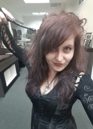 Tumblr, Work, and Blog: daily-harrypotter-world:  My Bellatrix Lestrange costume I put together for a costume contest at work