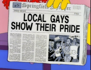 gays: DAILY NEWS  FREE  LOCAL GAYS  SHOW THEIR PRIDE  PRIDE