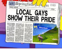 """Meme, News, and Free: DAILY NEWS  FREE  LOCAL GAYS  SHOW THEIR PRIDE  Return to Lobby <p>Simpson's meme format via /r/MemeEconomy <a href=""""https://ift.tt/2GGG9A9"""">https://ift.tt/2GGG9A9</a></p>"""