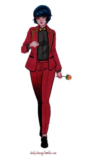 Target, Tumblr, and Blog: daily-tawyihmbl.com daily-tsurugi:  #5 - Tuxedo/suitSuggested by @goldensmilingbird