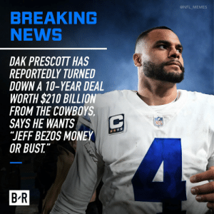 Dak turns down ANOTHER deal https://t.co/HGdKOrTOxN: Dak turns down ANOTHER deal https://t.co/HGdKOrTOxN