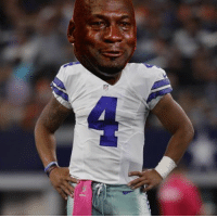 Nfl, Fruition, and Dak: Dak's biggest fear has come to fruition!