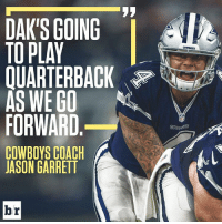 Should Romo get a chance?: DAKS GOING  l  TOPLAY  AS WE GO  FORWARD  COWBOYS COACH  JASON GARRETT  br  COWBOYS Should Romo get a chance?