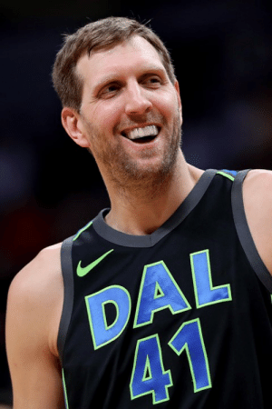 "Good, Ice Cream, and Cream: DAL  41 Dirk's eating GOOD.  Big man says he's gained 15 pounds since retiring: ""I have not worked out once. … I've had ice cream almost every day""   (via 105.3 The Fan)"