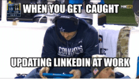 Plenty of other teams would love to have Tony Romo starting for them... Credit: Joe Cahill: DAL PIT  WHEN YOUGET CAUGHT  NFL  13 18  3RD 1208  3RD & 1  UPDATING LINKEDIN AT WORK Plenty of other teams would love to have Tony Romo starting for them... Credit: Joe Cahill