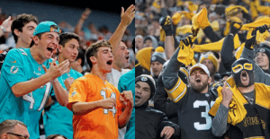 Dolphins and Steelers fans reacting to the Steelers win on MNF https://t.co/vgxhGhw8TO: Dal  Steel Dolphins and Steelers fans reacting to the Steelers win on MNF https://t.co/vgxhGhw8TO