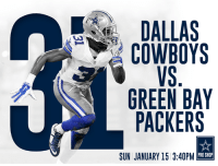 It's time to start our mission to #FinishThisFight!!!  #GameDay #CowboysNation #GBvsDAL http://bit.ly/2jFkNan: DALLAS  COWBOYS  GREEN BAY  PACKERS  PRO SHOP  SUN JANUARY 15 3:40PM It's time to start our mission to #FinishThisFight!!!  #GameDay #CowboysNation #GBvsDAL http://bit.ly/2jFkNan