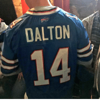 Football, Love, and Nfl: DALTON Ladies, find yourself a man that will love you as much as Bills fans love Andy Dalton https://t.co/yKXrpavtFV