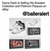 320748bd7 Dame Dash Ls Selling His Sneaker Collection and Platinum Plaques on ...