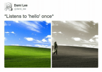 "Lee, Dam, and Sepia: Dami Lee  @dam  ee  *Listens to ""hello' once* SEPIA"
