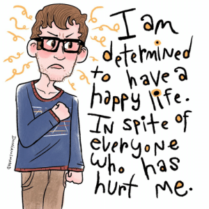 Tumblr, Blog, and Http: DAMIAN imatED damianimated:  Turn that spite into determination.