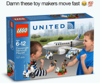 """<p>A spicy new meme has emerged. It features lego and antics. Too unorthodox or eccentric for the current market? You decide. via /r/MemeEconomy <a href=""""http://ift.tt/2p9cREF"""">http://ift.tt/2p9cREF</a></p>: Damn these toy makers move fast  UNITED  Ages  6-12  Passenger  Removä  Playset  UNITED  127 pcs <p>A spicy new meme has emerged. It features lego and antics. Too unorthodox or eccentric for the current market? You decide. via /r/MemeEconomy <a href=""""http://ift.tt/2p9cREF"""">http://ift.tt/2p9cREF</a></p>"""