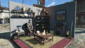 Fallout 4, Tumblr, and Blog: damnthesegames: How To Junk Decorate In Fallout 4 I call this technique the 1.5 second make over