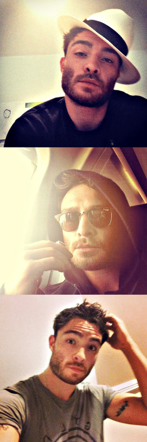 damnyouchuckbass:  Ed Westwick being perfect on instagram (x) : damnyouchuckbass:  Ed Westwick being perfect on instagram (x)